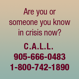 Are you or someone you know in crisis now?