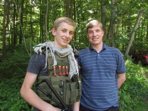Hayden Prince and David Clarke